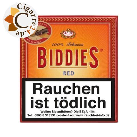 Agio Biddies Red Zigarillos, 20er