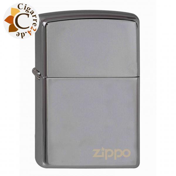 Zippo Black Ice Zippo Logo