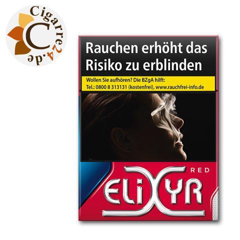 Elixyr Red 3XL-Box 7,50 € Zigaretten