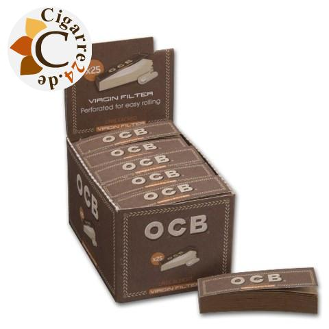 OCB Unbleached Filter Tips