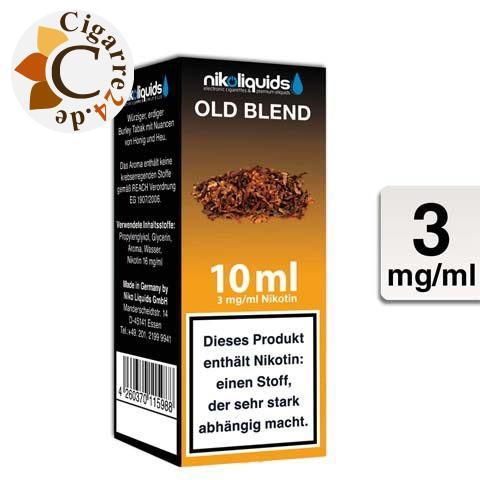Nikoliquids E-Liquid Old Blend 3mg Nikotin
