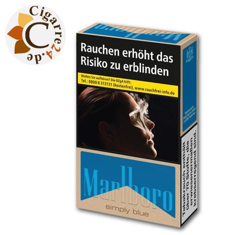 Marlboro Simply Blue 7,20 € Zigaretten
