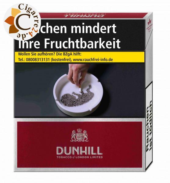Dunhill International Red 9,50 € Zigaretten